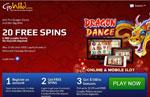 50 free spins no deposit