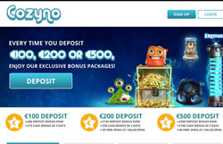 Cozyno Casino Review